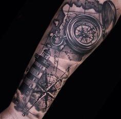 Vuurtoren tattoo