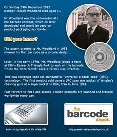 The beginnings of the barcode: