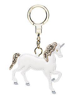unicorn keychain by kate spade new york