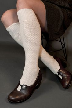 Knee-highs, of course...always wore them