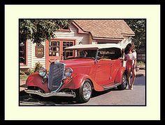 """'34 Ford Phaeton Show Car, 1983 (Cosmo's """"ART"""" Gallery) Tags: ford babe 1983 1934 phaeton customcar showcar"""