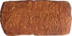 The Mystery of Linear A.  Linear B was the writing system used in the late Bronze Age (2000- 1100BC) in Mycenaean Greece and has been successfully deciphered.  The mystery remains with Linear A tablets, though. It appears that Linear B may have evolved from Linear A, as they share similar symbols, but Linear A does not represent the Greek language and to this day the tablets still remain undeciphered. Linear A was used in Crete between 1800-1450BC.