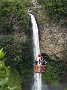 Baños, Ecuador - I've been there twice, and I'll go back again. It's my favorite city in Ecuador :)