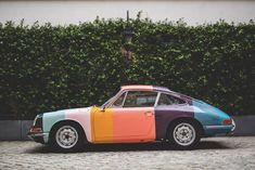 This Paul Smith-Designed Classic Porsche 911 Is Unbelievably Cool Porsche 912, Porsche Cars, Porsche Classic, Classic Hot Rod, Classic Cars, Assurance Auto, Vintage Sports Cars, Racing Seats, Ferdinand Porsche