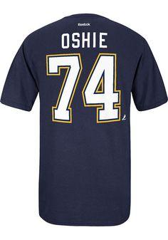 T.J. Oshie St Louis Blues T-Shirt - STL #74 Face-Off Navy Blue Player Tee http://www.rallyhouse.com/shop/st-louis-blues-reebok-st-louis-blues-oshie-navy-player-tshirt-1485133?utm_source=pinterest&utm_medium=social&utm_campaign=Pinterest-STLBlues $28.00