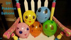 DIY Pokémon Balloons
