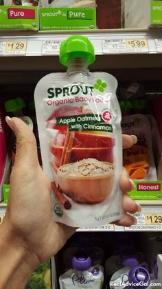 Sprout Baby Organic Foods  are USDA certified organic and Non GMO #SproutFoods #SproutBabyFoods #AD