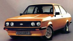 First Car I ever rode in was my Dad's Escort Mexico! Such a cool car! Ford Rs, Ford Shelby, Ford Mustang, Classic Motors, Classic Cars, Ford Motorsport, Ford Sierra, Old Fords, Ford Escort