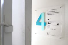 Masa Depan Cerah School - Wayfinding on Behance School Signage, Office Signage, Office Branding, Identity Branding, Visual Identity, Directional Signage, Wayfinding Signs, Environmental Graphic Design, Environmental Graphics