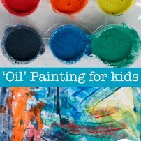 'Oil' like painting