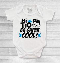 4c289a73d1ae3 Bodys o mamelucos para bebé con mensajes espectaculares para las tías y  tíos más amorosos
