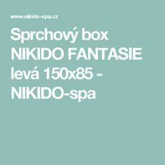 Sprchový box NIKIDO FANTASIE levá 150x85 - NIKIDO-spa