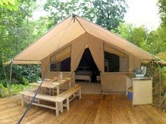 Tents yurts cabins on pinterest for Permanent tent cabins