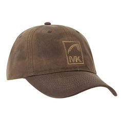 Water Repellant Waxed Cotton Cap with MK Icon #MountainKhakis #waxedcotton #waterrepellant #cap