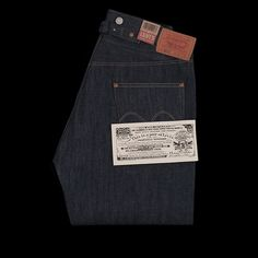 -Made in the USA. Designed as part of Levi's Golden Handshake collection, in celebration of the 100-year partnership between Levi's and Cone Denim Mills, these are a reproduction of a 1915 Levi's design and feature cinch and suspender buttons at the waist, a high waist and a wide leg...