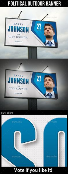 Political Election Poster Template V01 | Template, Print templates ...