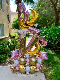 Balloon Bouquet Delivery, How To Make Balloon, Balloon Crafts, Balloon Arrangements, Balloon Decorations Party, Birthday Balloons, Holidays And Events, Icons, Creative