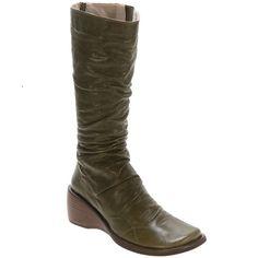Buy Green Black Red Miz Mooz Women's Casablanca Wedge Boot shoes