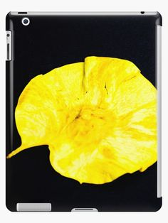 NEU auf Redbubble  Gelbes #Blatt #iPad-#Hüllen & #Skins von #pASob-dESIGN #Redbubble https://www.redbubble.com/de/people/pasob-design/works/27549177-gelbes-blatt?asc=u #GelbesBlatt #iPadHüllen #Apple