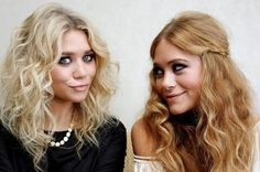 This shot of the Olsen twins perfectly shows the difference between a cool light blonde, and a slightly darker, warmer blonde