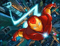 Invincible Iron man by astrogus on DeviantArt Marvel Comics Art, Marvel Comic Universe, Marvel Heroes, Marvel Avengers, Iron Man Wallpaper, Marvel Wallpaper, Marvel Comic Character, Character Art, Super Anime