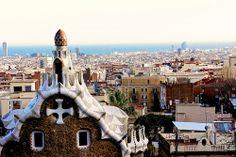 Parc Guell designed by Antoni Gaudi.   VIP трансфер в Барселону  и  Предлагаем услуги экскурсии  трансфер, отдых, #travel