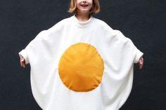 Egg-cellent Fried Egg Costume