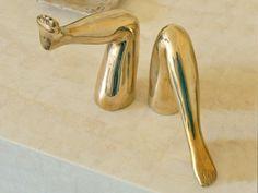 gold feet_Kelly Wearstler blog