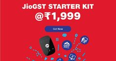 """Solution to expensive GST Services - JioFi JioGST STARTER KIT with Internet DATA Unlimited Calling        Hello Friends !     Wish you Good Day ! Here in this post I am going to present for you a cheapest and superb solution to overcome costly services of GST i.e. GSP (GSTSuvidhaProvider). Recently Reliance Jio has Launched its flagship initiative in the field of GSP in its veteran style i.e. cheapest and highest in the quality. The name is""""GST Starter KIT""""which is going to provide you Jio…"""