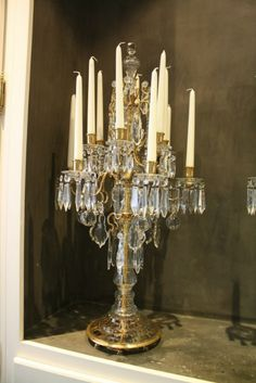 This is so lovely.  An elegant home can never have too many candelabras.  I even have a pair on my guest bathroom vanity.