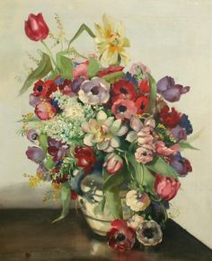 18th Century Flower arrangement