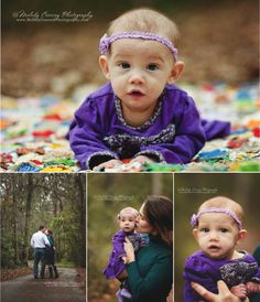 #family portraits #family #purple #outdoors  www.MelodyCoarseyPhotography.com