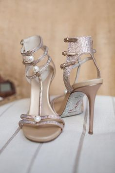 023174f7aee1 Most Romantic Backyard Houston Wedding. Sparkly ShoesGold ...