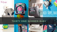 Thirty One Summer & Baby | Sneak Peak of TWO Products - YouTube. April customer 2018 Special. Get a sneak peek of summer essentials guide and baby by Thirty-one. Also pinch top sunglasses 😎 case is back! Crossbody thermal?!