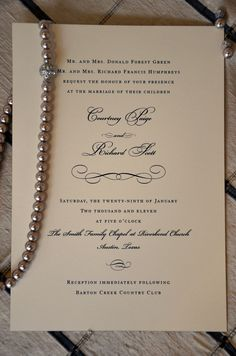 Michaels wedding department classic plum program paper this this wedding invitation is the true definition of a traditional invitation heavy ivory or ecru card stock with a very formal typestyle printed or stopboris Image collections