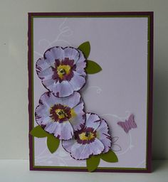 Stampin' Up!  Butterfly Punch  Lauren Yang