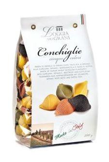 LOGGIA DEI GRANI - Conchiglie alla bietola rossa, carota, curcuma e spinaci. Scopri tutte le linee, i formati e i gusti favolosi della nostra pasta! Solo su: www.demarca.it