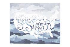 Sea to Shining Sea Print