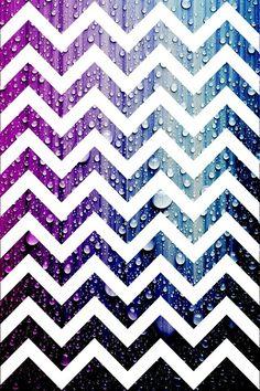 Galaxy chevron wallpaper