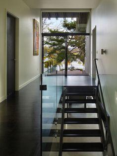 modern staircase by BAAN design