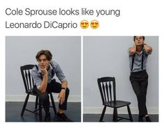 cole sprouse and leonardo dicaprio - Google Search