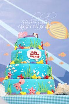 Under The Sea Cake & Cupcakes