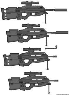 """Retrotech LR-86 """"Saito"""" by *Gunnut51 on deviantART"""