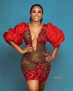 Short African Dresses, African Inspired Fashion, Latest African Fashion Dresses, African Print Dresses, African Print Fashion, Africa Fashion, Short Gowns, Ankara Fashion, African Prints