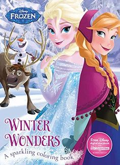 Winter Wonders Coloring Book (Disney Frozen ) (Color Fun!) by Parragon Books Ltd (2016-01-01) * Continue to the product at the image link.