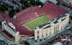 "Nebraska Huskers - Memorial Stadium - A ""Cathedral of College Football"""