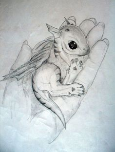 baby dragon drawing - Google Search: