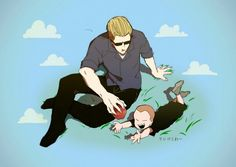 Wesker and jake