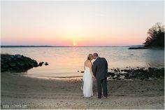 Sunset Wedding Photos - Jefferson Patterson Park Wedding  •  tPoz Photography  •  www.tpozphoto.com