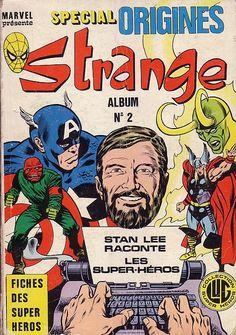 Couverture de Strange (Spécial Origines) -REC02- Album N°2